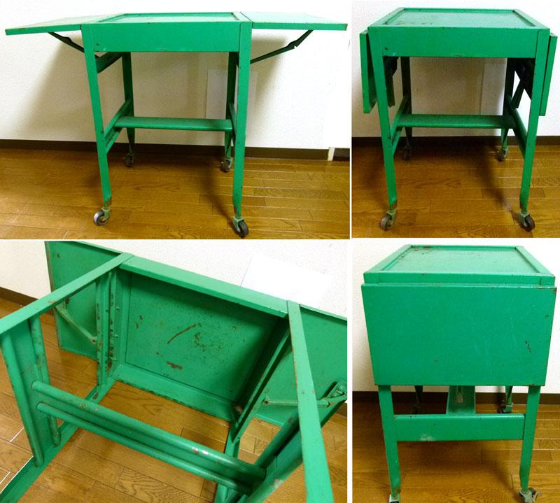 1960s アンティーク USA バタフライテーブル 作業台【中古】【送料無料】