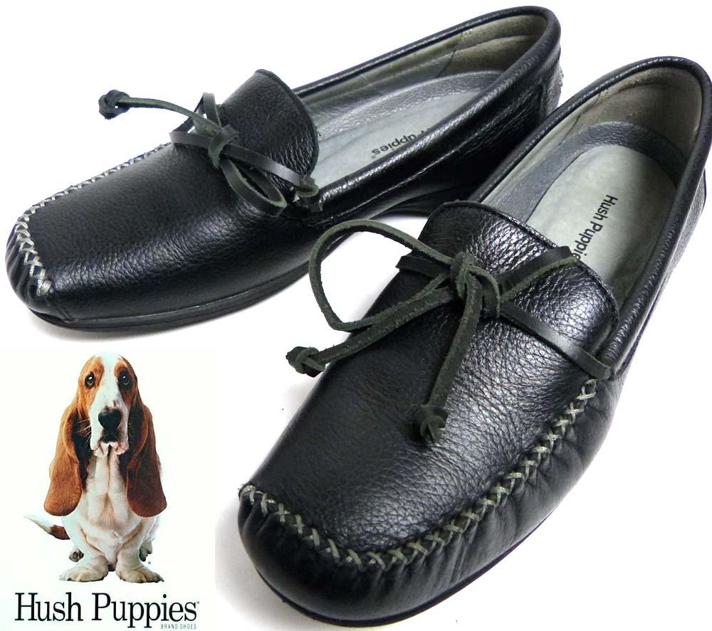 ハッシュパピー Hush puppies レザー ローファー / モカシンシューズ 24(24cm相当)(レディース)【中古】