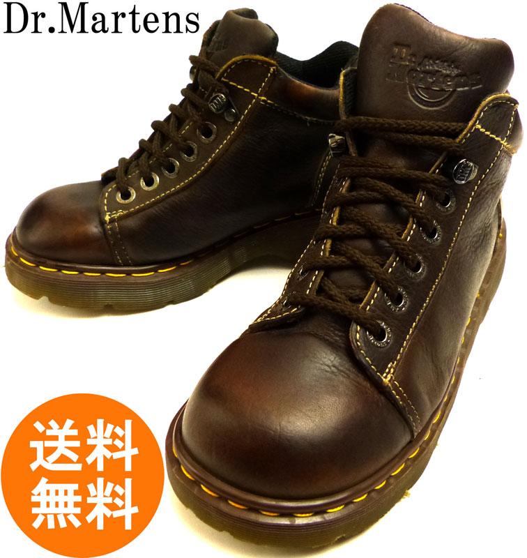 ドクターマーチン Dr.Martens イングランド(英国)製 6ホール ブーツUK6(24.5cm相当)( メンズ・レディース )【中古】