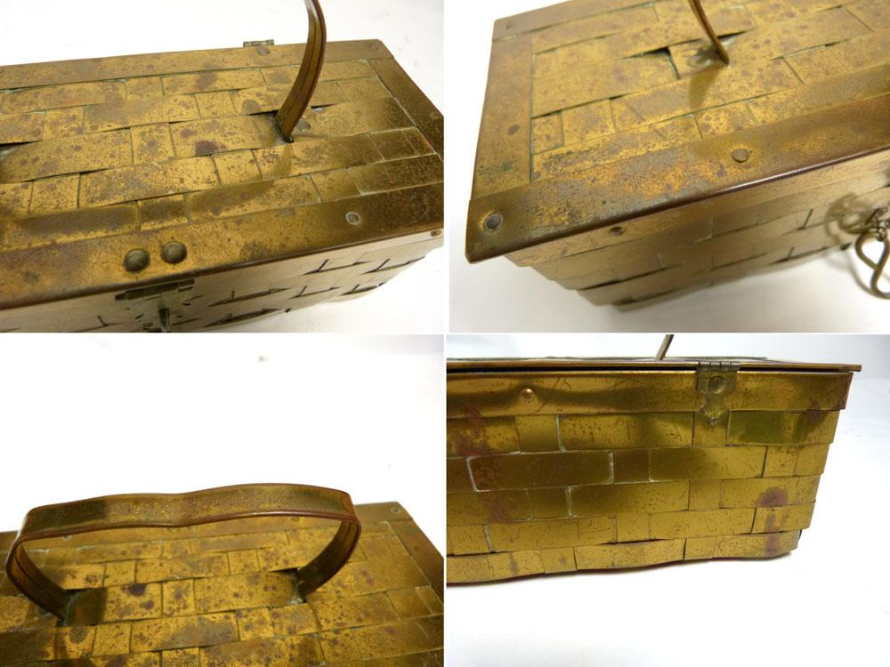 【希少】1950−60sビンテージ メタルバッグ ルーサイトバッグ 【中古】【送料無料】