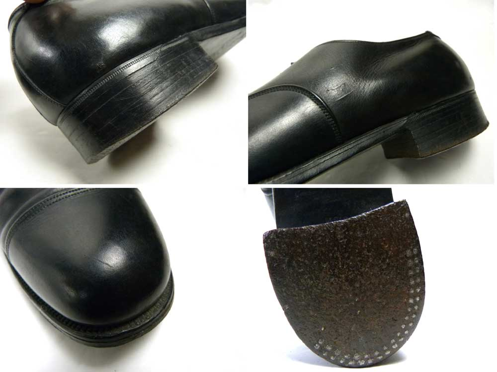 1950−60s スワン社製 Health Brand ストレートチップシューズ (27.5−28cm相当)(メンズ)【中古】【送料無料】
