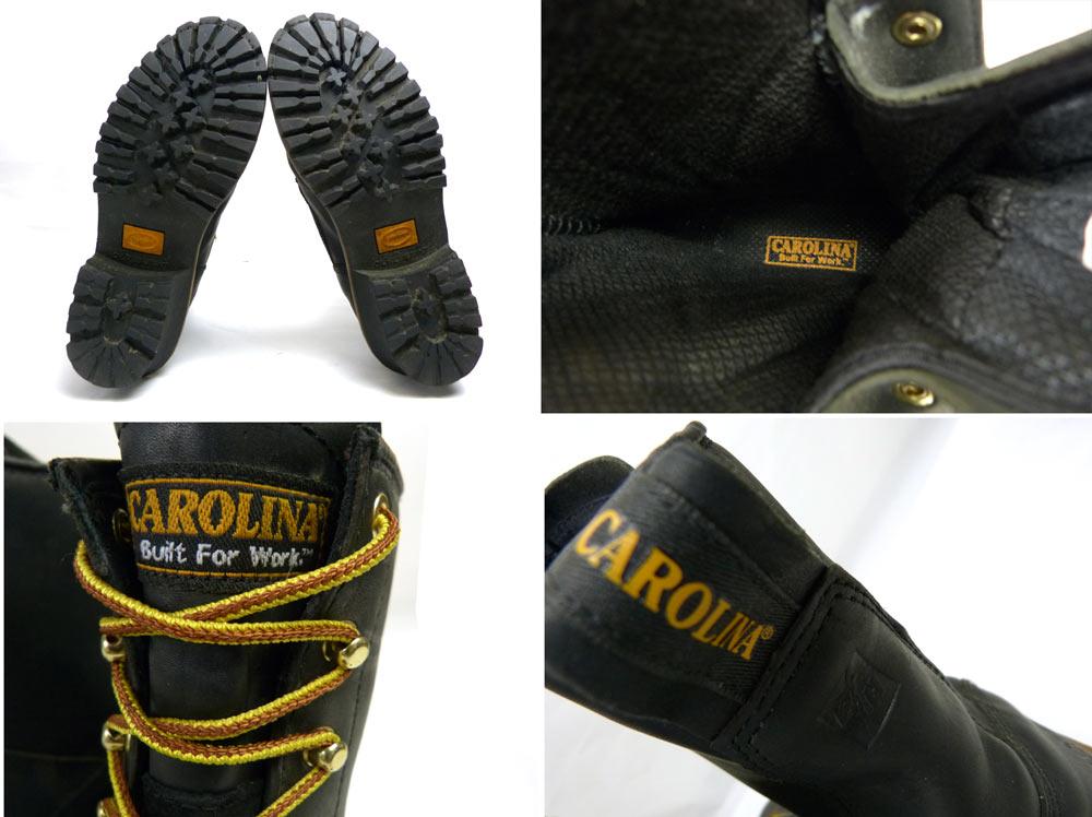 キャロライナ Carolina 編み上げワークブーツ 10 1/2D(28.5cm相当)(メンズ)(ビッグサイズ)【中古】