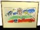 マルク・シャガール Marc Chagall「緑の河」リトグラフ 【中古】【送料無料】