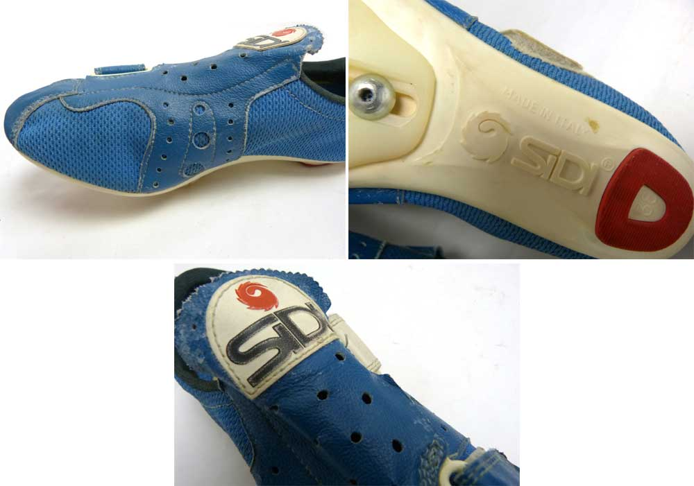 イタリア製 SIDI ビンテージ サイクリングシューズ 38 1/2(24.25cm相当)(レディース)【中古】