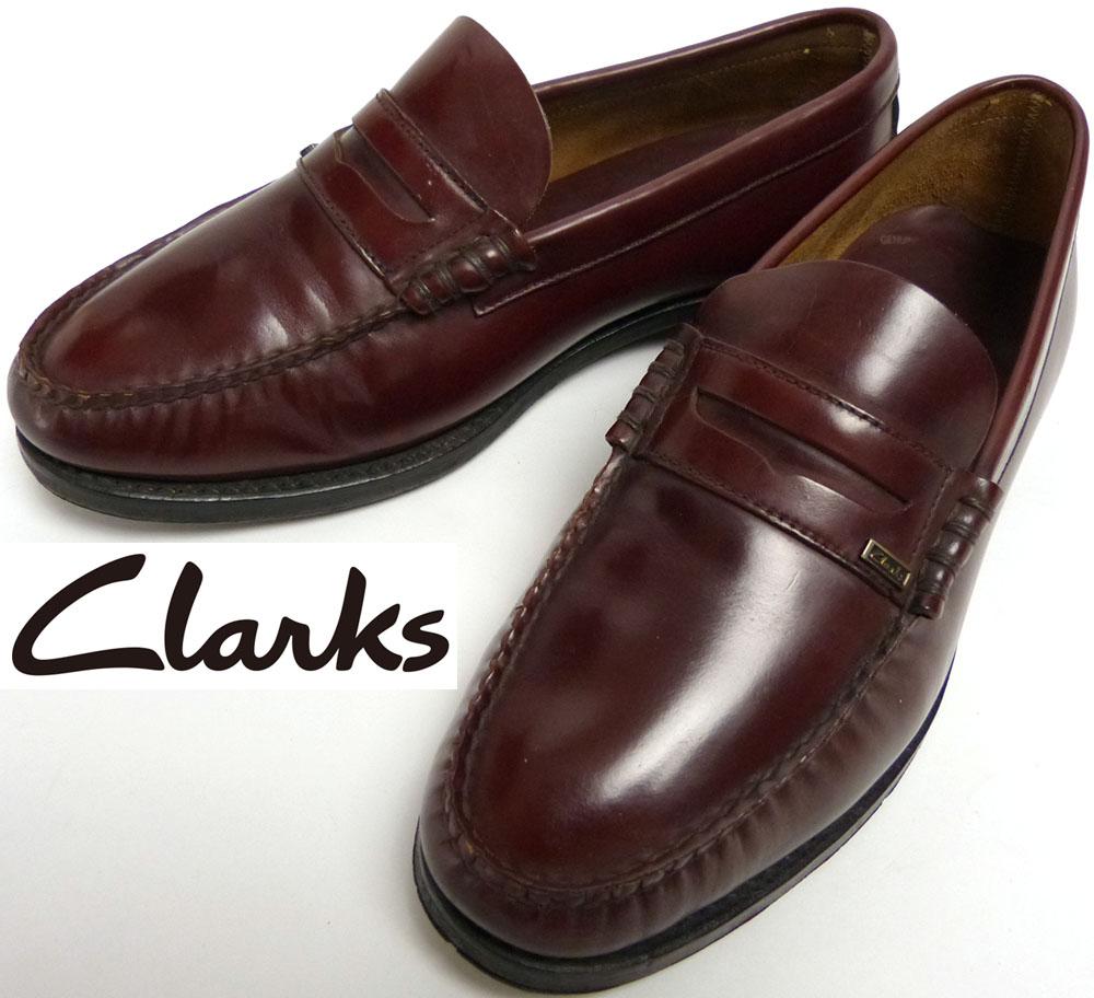 クラークス Clarks OF ENGLAND コイン(ペニー)ローファー UK6(24.5cm相当)(メンズ)【中古】