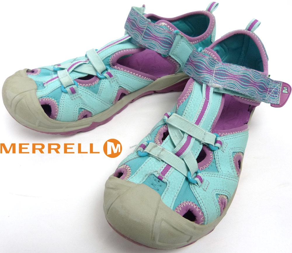 メレル MERRELL HYDRO アウトドアサンダル US6M/EU37(23.5-24cm相当)(レディース)【中古】