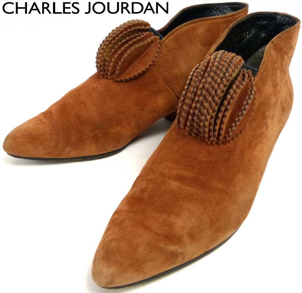 シャルル ジョルダン CHARLES JOURDAN スエードショートブーツ 5 1/2(23cm相当)(レディース)【中古】