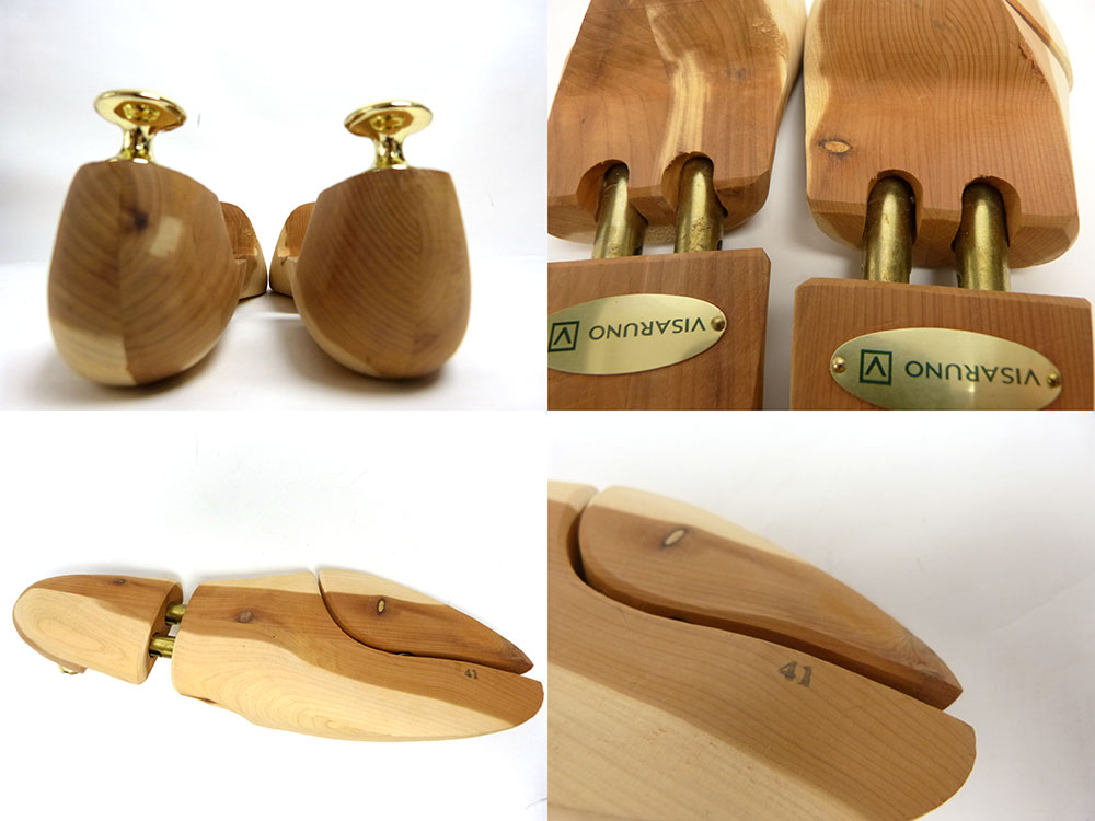 VISARUNO/ビサルノ 木製シューキーパー / シューツリー 41 (25.5cm相当)(メンズ)【中古】