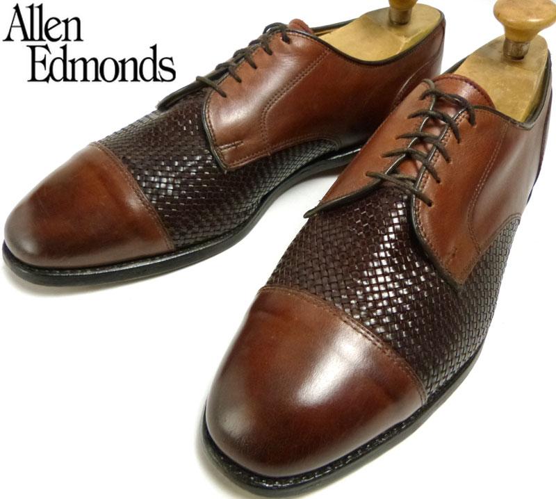 USA製Allen Edmonds アレンエドモンズ Lauderdale ストレートチップシューズ 11D(29cm相当)( メンズ )( ビッグサイズ )【中古】【送料無料】