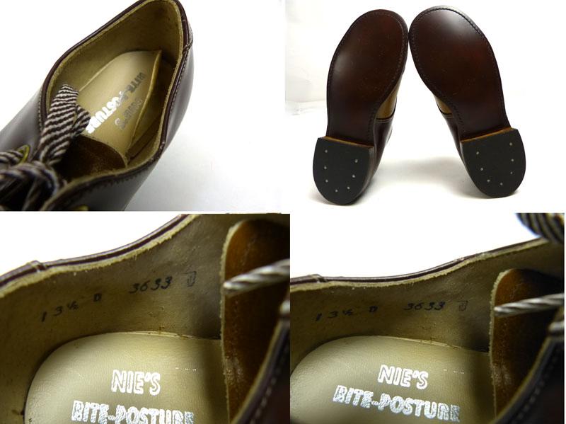 キッズ用 1970s USA製 Rite-Posture 2トーンコンビレザーシューズ 13 1/2D(20〜20.5cm相当)(デッドストック)【中古】