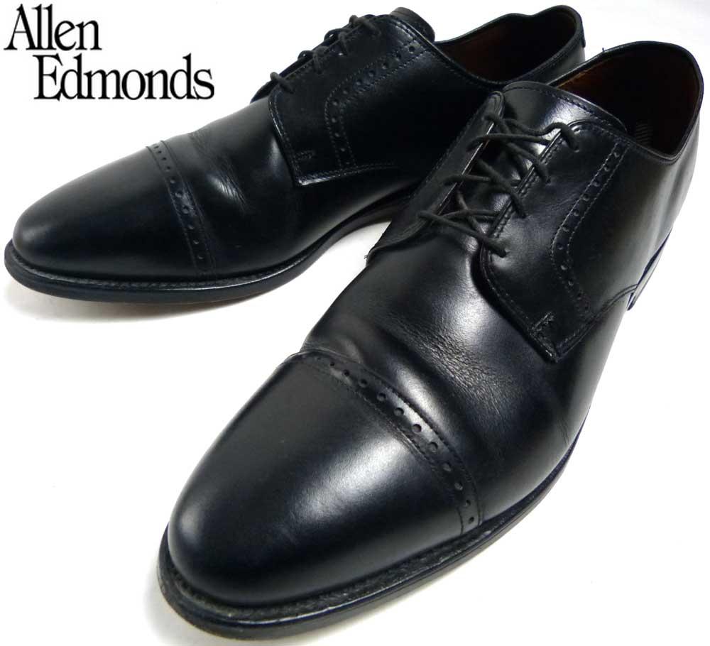 USA製 アレンエドモンズ Allen Edmonds Clifton クリフトン ストレートチップシューズ 13D(31cm相当)(メンズ)(ビッグサイズ)【中古】【送料無料】
