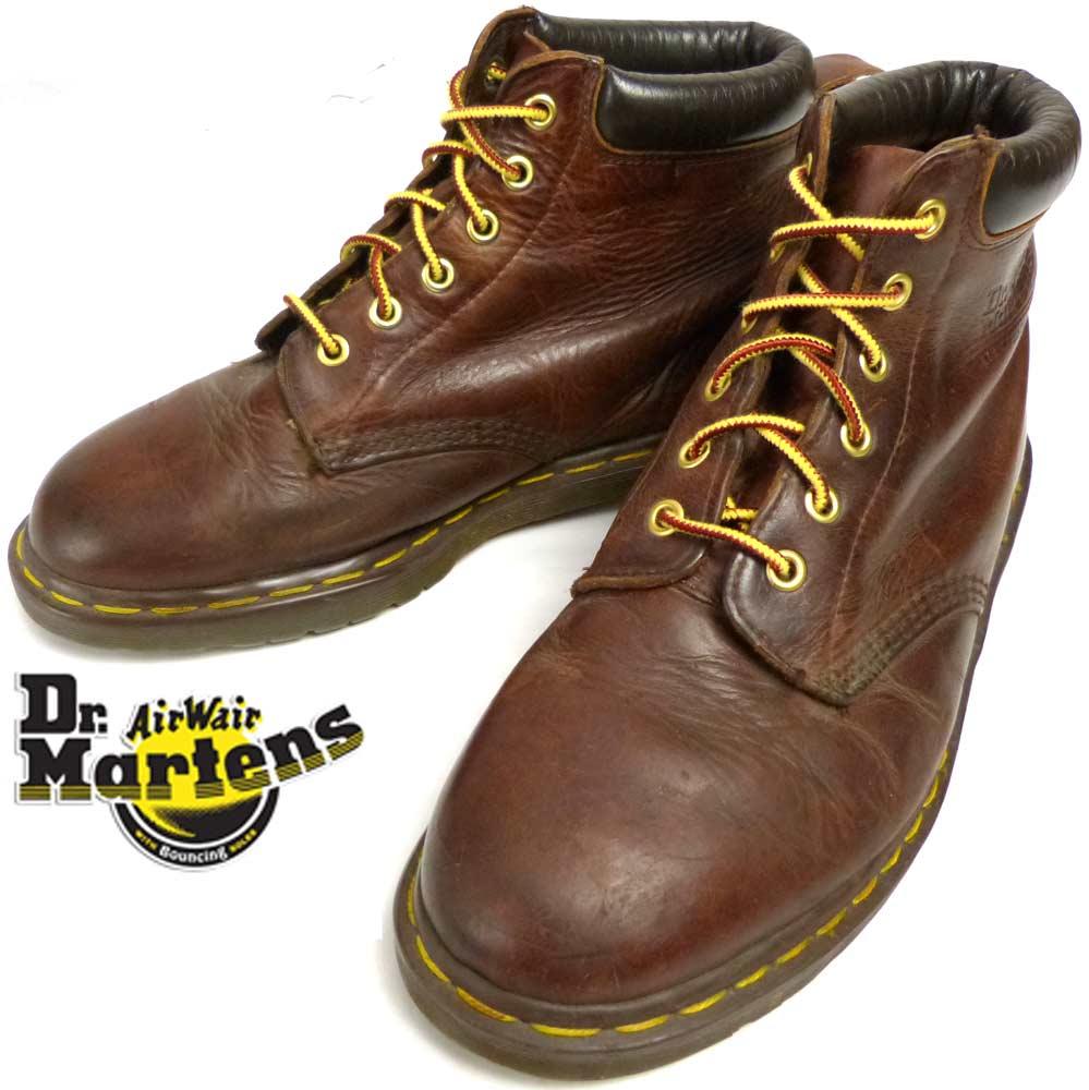 英国製 ドクターマーチン Dr.Martens6ホールブーツ UK9(27.5cm相当)(メンズ)【中古】