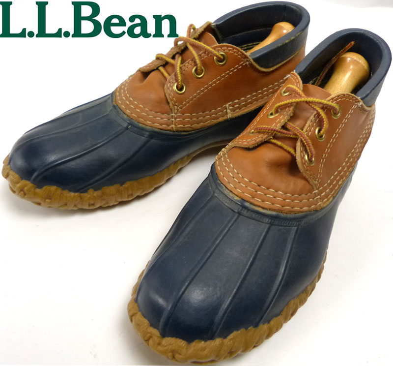 USA製エルエルビーン L.L.Bean 3ホール ビーンブーツ ガムシューズ ハンティングブーツ 9LM(26cm相当)( メンズ )【中古】