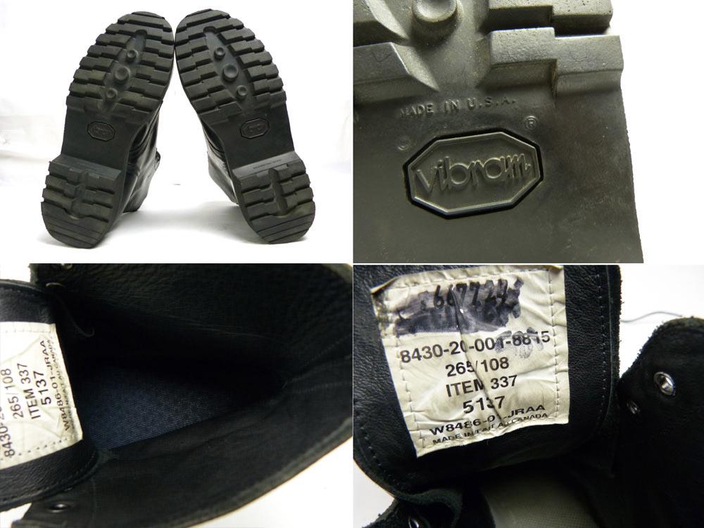 カナダ製 オフィサーブーツ / ワークブーツ (28cm相当) (メンズ)【中古】【送料無料】