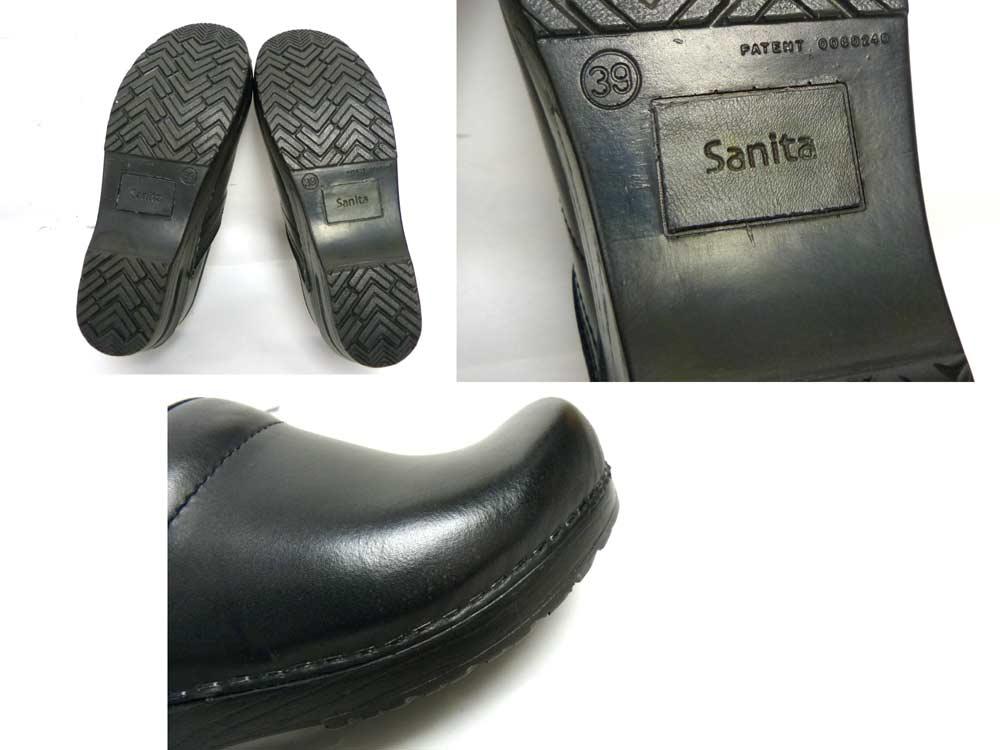 ポーランド製 サニタ SANITA プロフェッショナル / サボ サンダル / クロッグ 39(25cm相当)(レディース)(デッドストック)【中古】
