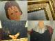 複製名画 モジリアニ 「少女の肖像(ユゲット)」人物画 (アメデオ・モディリアーニ )版上サイン【中古】 【送料無料】