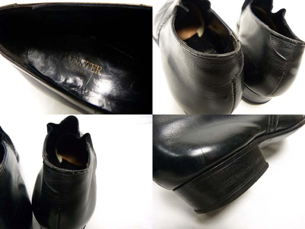 【希少】1950-60s バニスター Banister Shoes スリッポン / サイドゴアシューズ 9D(26.5-27cm相当)(メンズ)【中古】【送料無料】