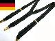ドイツ製 ストライプ クリップサスペンダー (メンズ・レディース)【中古】【メール便可】