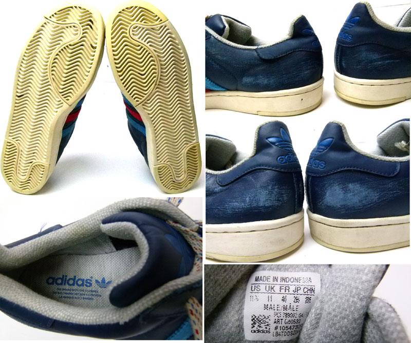 adidas Superstar II LITE(アディダススーパースター)スニーカーUS11 1/2(29.5cm相当)(メンズ)【中古】