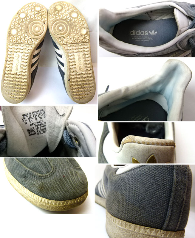 【adidas/アディダス】SAMBA(サンバ)スニーカー  US10(28cm相当)( メンズ )【中古】