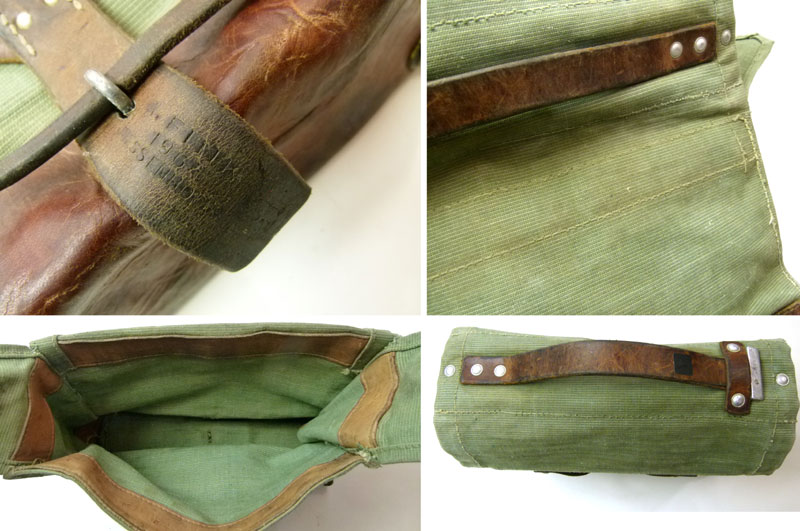 1960年代スイス軍ツールバッグ/ハンドバッグ 【中古】