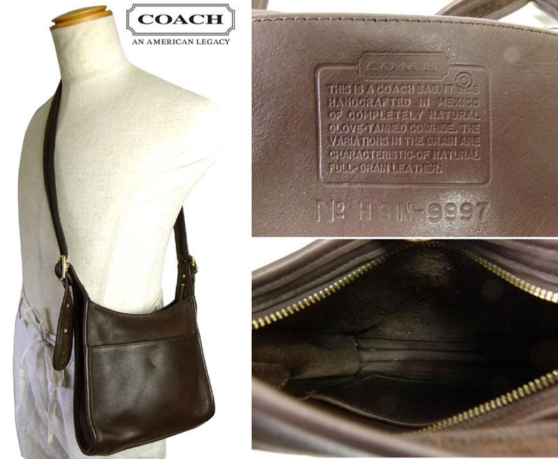 オールドコーチ OLD COACH ショルダーバッグ(メンズ・レディース)【中古】【送料無料】