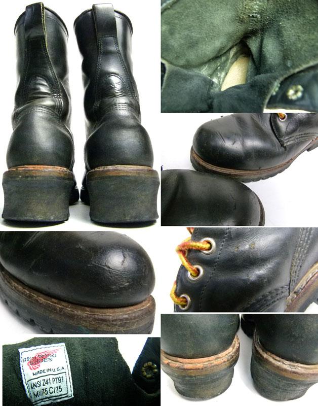 REDWING レッドウィング #2218 USA製ロガーブーツ  8 1/2D(26.5cm相当)( メンズ )【中古】【送料無料】