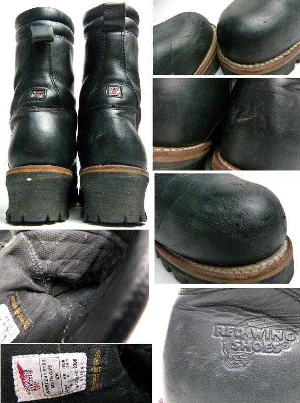 REDWING レッドウィング #2299 USA製ロガーブーツ  7D(25cm相当)( メンズ )【中古】【送料無料】