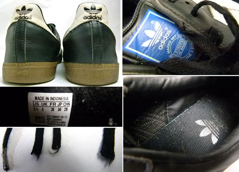 アディダス サンバ adidas SAMBA スニーカー US5 1/2(23.5cm相当)( レディース )【中古】