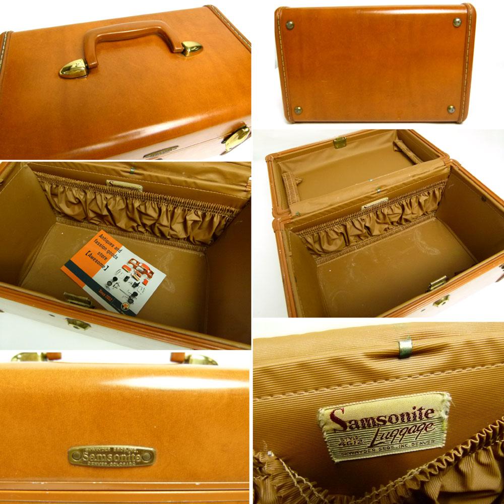 1950s サムソナイト Samsonite コスメボックス/バニティケース【中古】【送料無料】