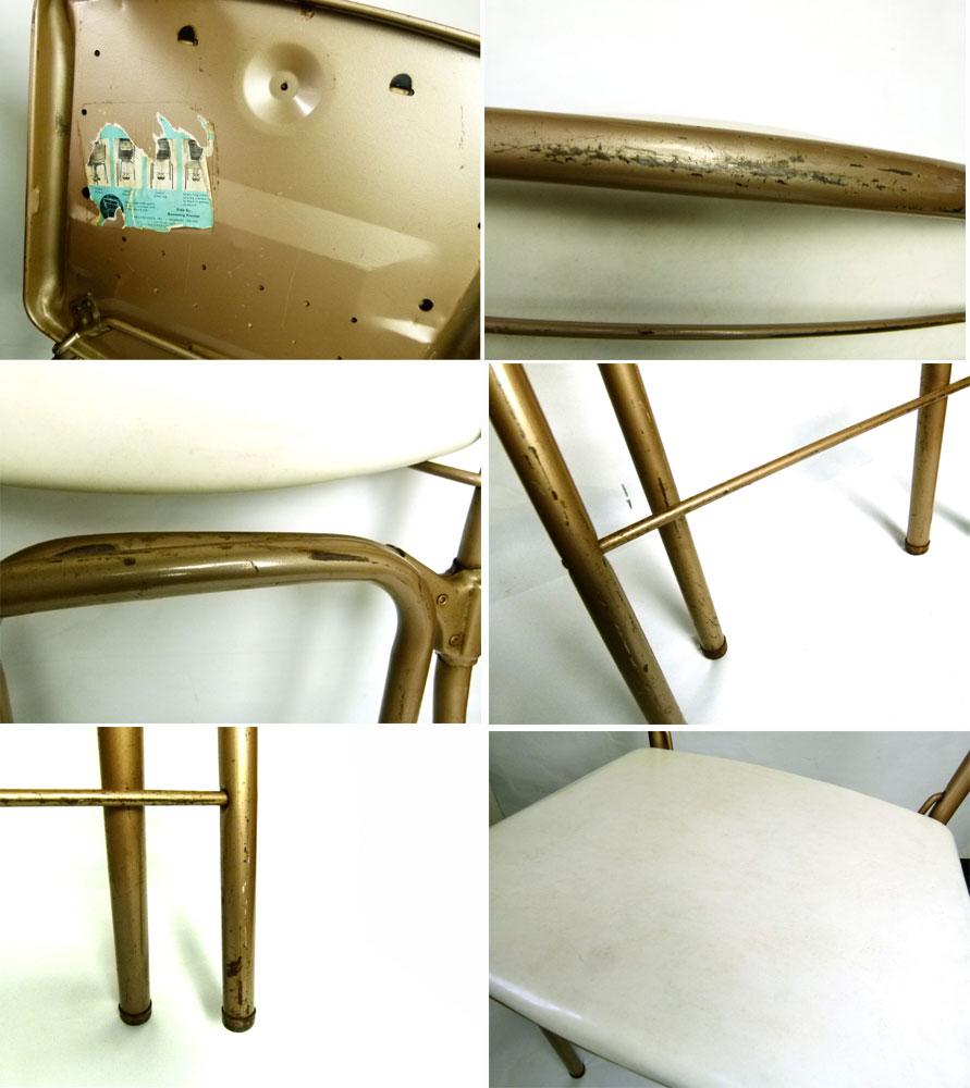1950-60s COSCO アンティーク フォールディング木製チェア 折り畳みイス【中古】【送料無料】