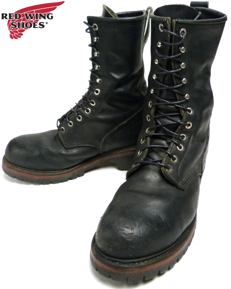 USA製 レッドウィング RED WING 2218 Logger Boots ロガーブーツ US 9D(27cm相当)【中古】【送料無料】