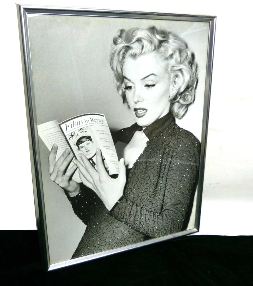 Marilyn Monroe マリリンモンロー 印刷物 / ポスター 額装【中古】
