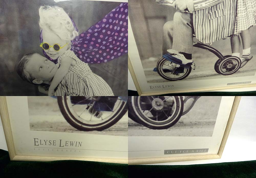 PHOTOGRAPHY ELYSE LEWIN Out for a ride ポスター 額装 / 三三判【中古】