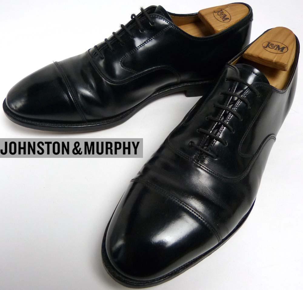 ジョンストン&マーフィー Johnston&Murphy キャップトゥシューズ 9 1/2 E/C(27.5cm相当)(メンズ)【中古】