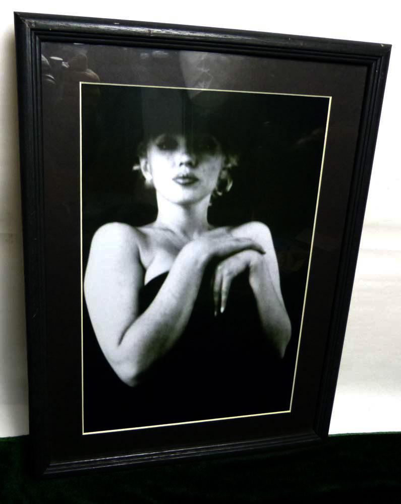 Marilyn Monroe マリリンモンロー フォトプリント / アートピクチャー 写真 額装【中古】