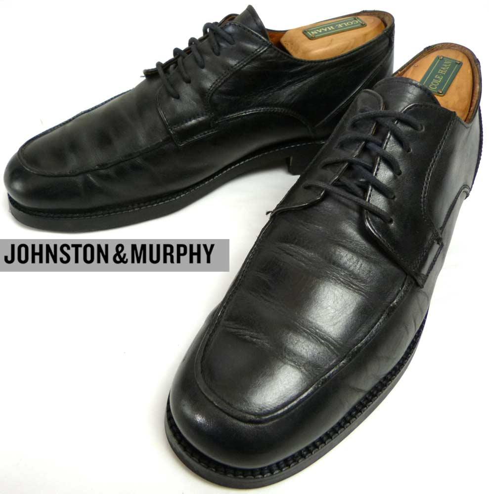 イタリア製 ジョンストン&マーフィー JOHNSTON & MURPHY Uチップシューズ 7 1/2M(25.5cm相当) ( メンズ )【中古】