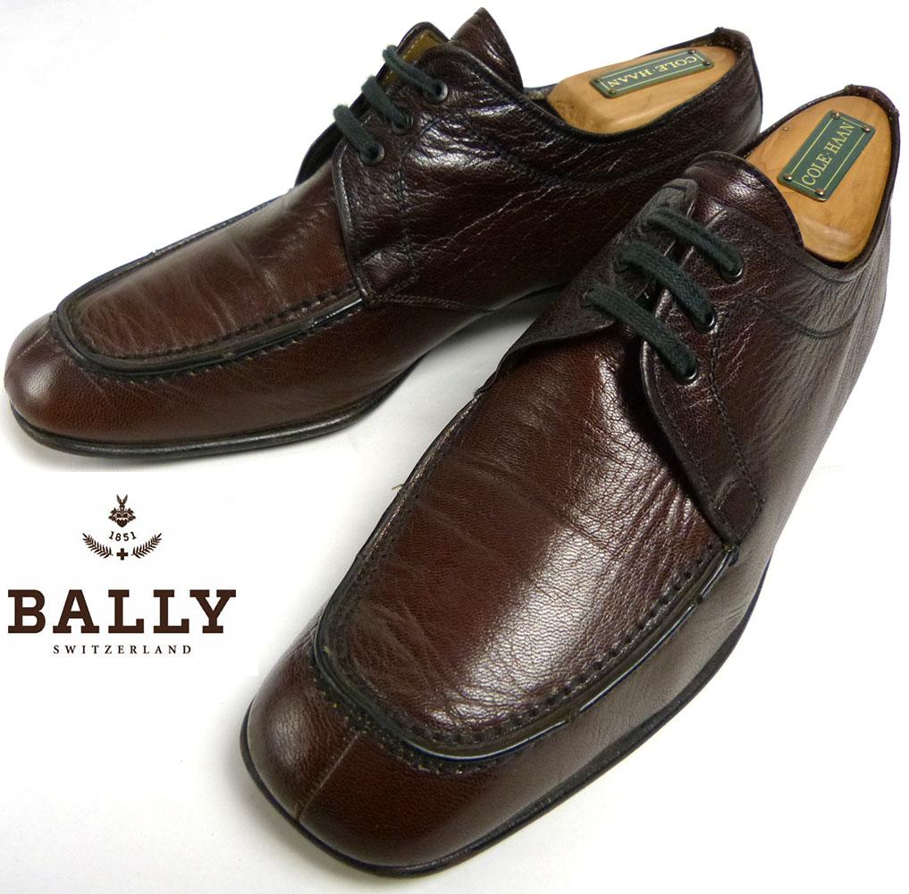 バリー BALLY SUISSE Uチップシューズ 8(26cm相当) (メンズ)【中古】