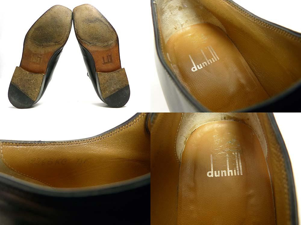 イタリア製 ダンヒル DUNHILL プレーントゥシューズ 7 1/2F(25.5-26cm相当)(メンズ)【中古】