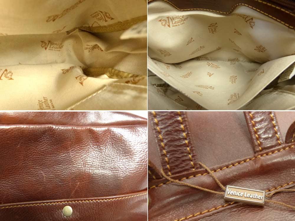 イタリア製 Venice Leather ベニスレザーバックパック / リュック【中古】【日本未発売】