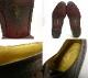イブ・サンローラン Yves Saint Laurent 型押し フルブローグ ストレートチップ シューズ 25 1/2(25.5cm相当)【中古】