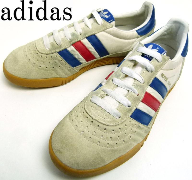【訳あり】アディダス adidas indoor super トリコロール スカッシュシューズ US6 1/2(24.5cm相当) ( レディース )【中古】