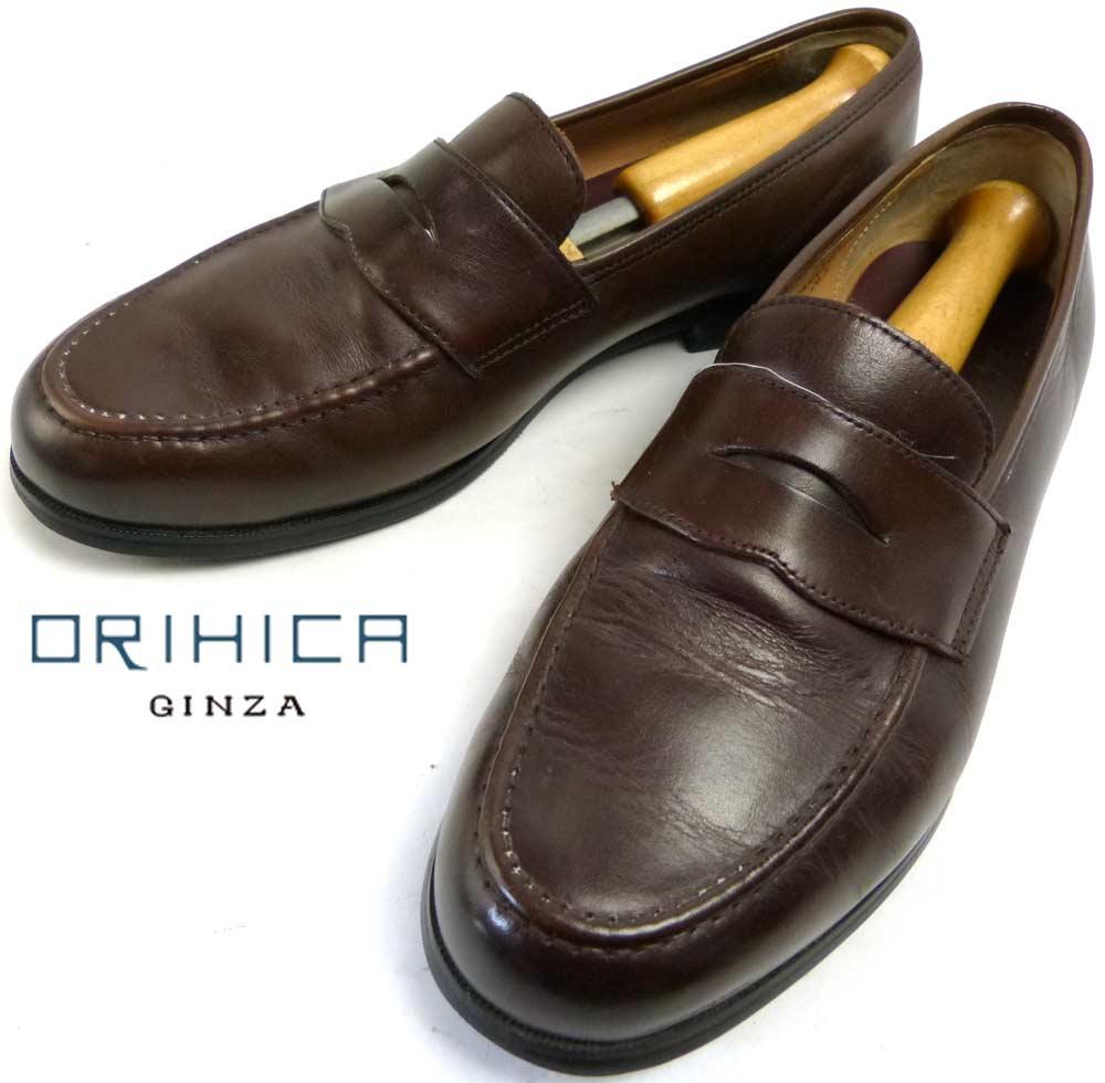ORIHICA オリヒカ コイン(ペニー)ローファー 26.5cm相当(メンズ)【中古】