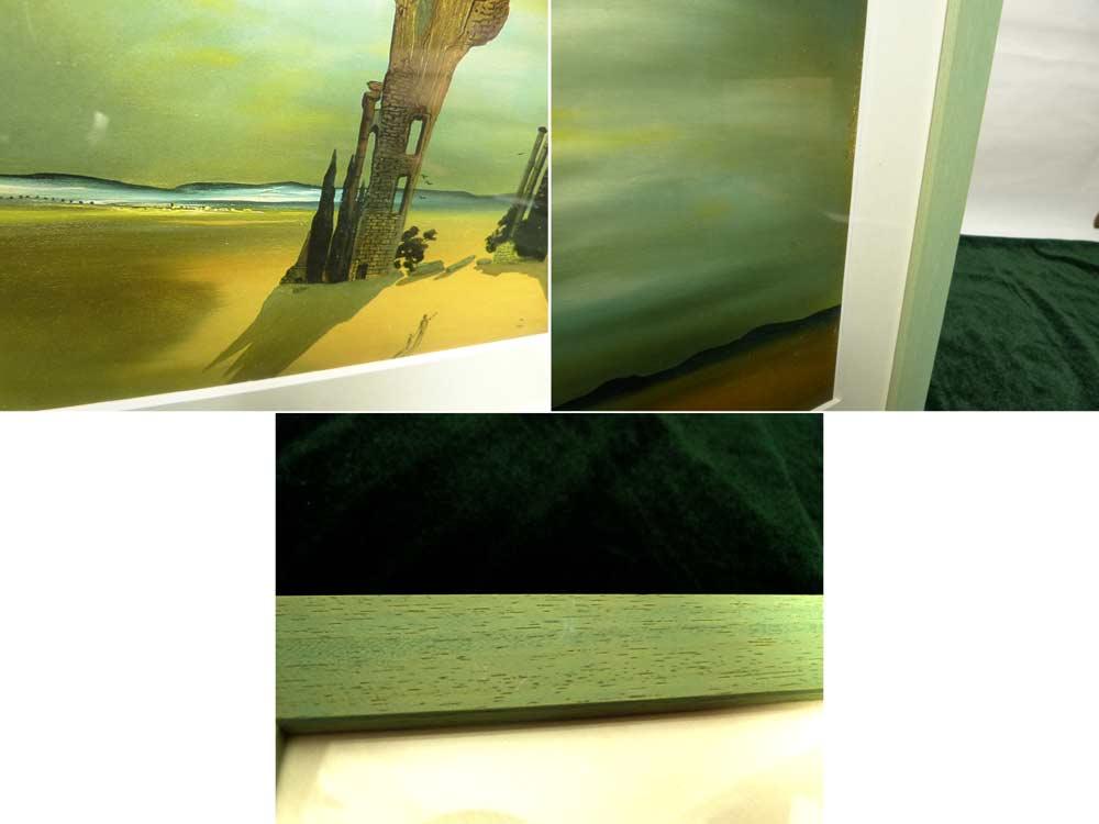 1935年作 サルバドール・ダリ / Salvador  Dali   / ミレーの≪晩鐘≫の古代学的回想  / 画集 額装【中古】
