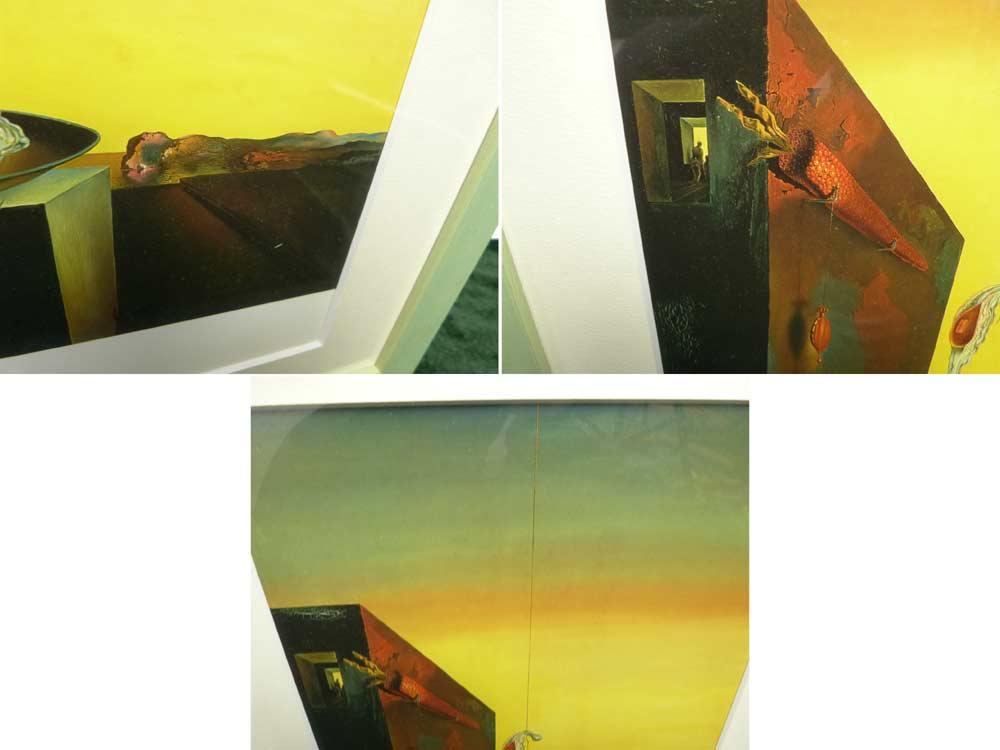 1932年作 サルバドール・ダリ / Salvador Dali  / 皿のない皿の上の卵  / 画集 額装【中古】