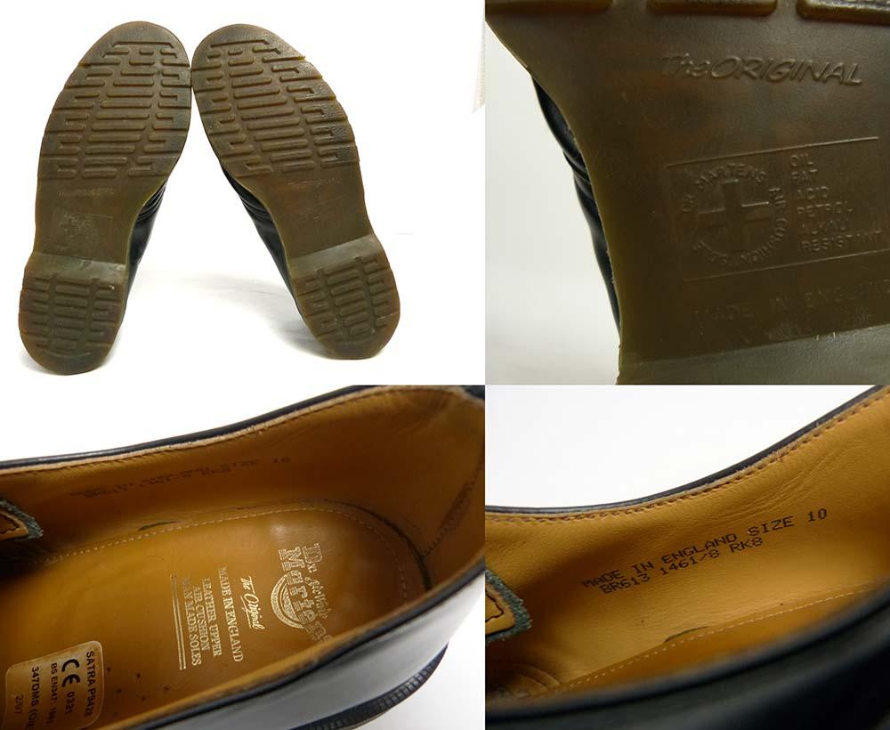英国製 ドクターマーチン Dr.Martens 3ホール シューズ UK10(28.5cm相当)(メンズ)【中古】【送料無料】