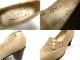 【希少】そのみつ SONOMITSU ボタン付きレザーパンプス (24cm相当)(レディース)(定価約4万円)【中古】