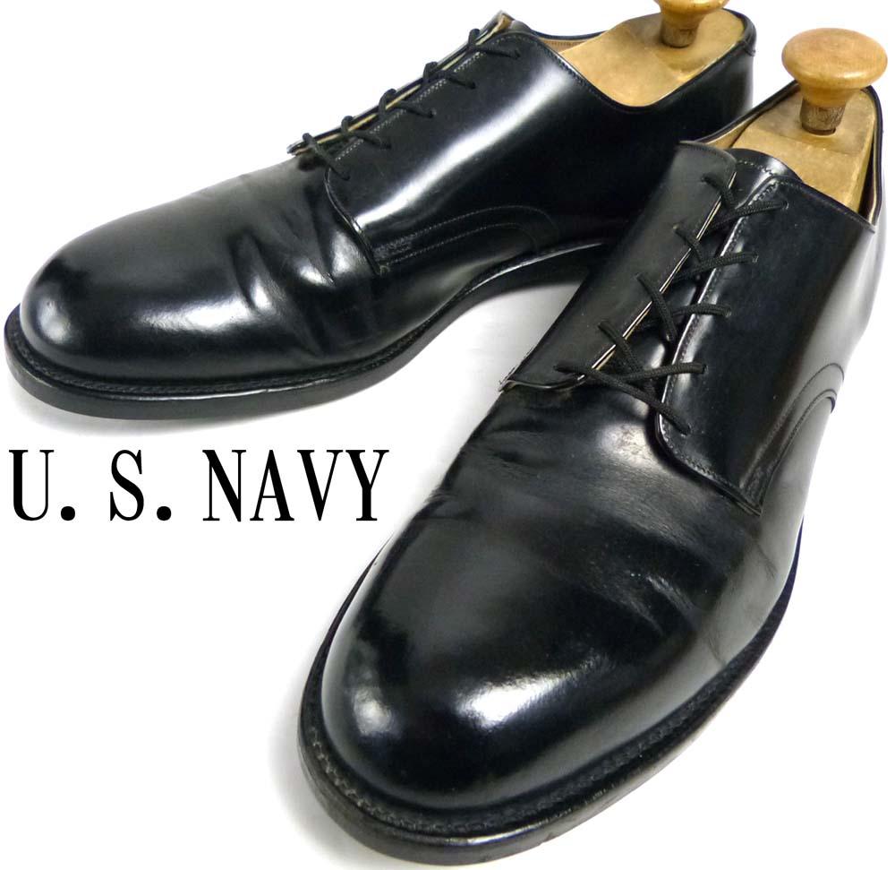 1988年製CRADDOCK-TERRY U.S.NAVY オックスフォード サービスシューズ 米海軍 11 1/2R(29.5cm相当)(メンズ)【中古】【送料無料】