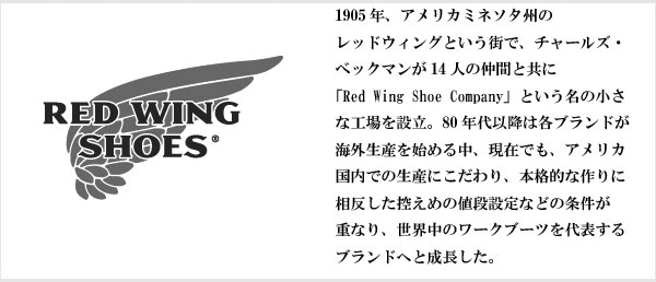 【REDWING/レッドウィング】USA製本革レザーワークブーツ 8.5B(25.5cm相当)( メンズ )【中古】