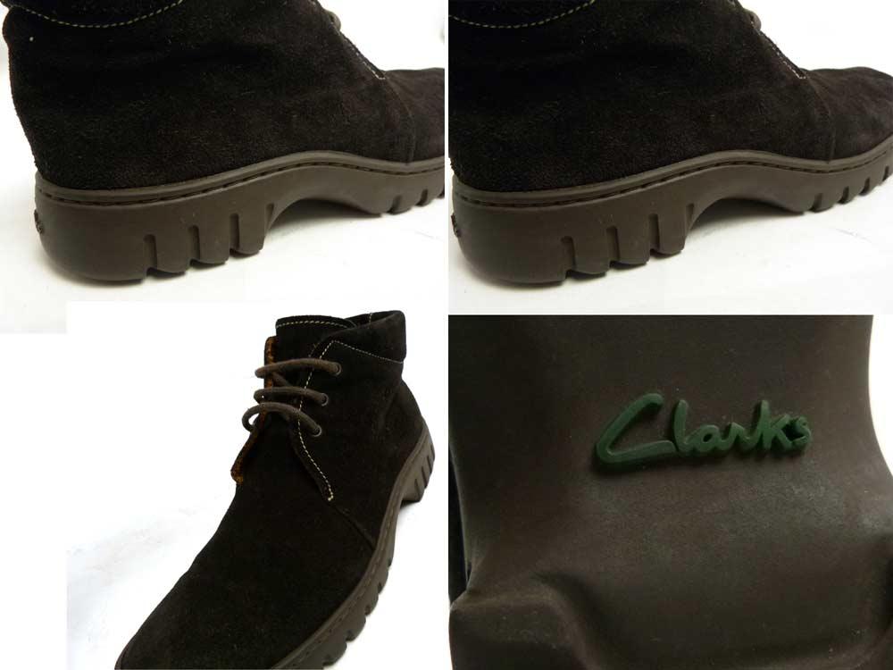 Clarks クラークス スエードショートブーツ 表記サイズ無し(22.5-23cm相当)(レディース)【中古】